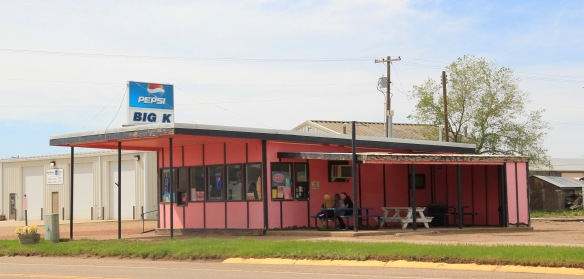 Fallon Co Baker US 12 drive-in roadside