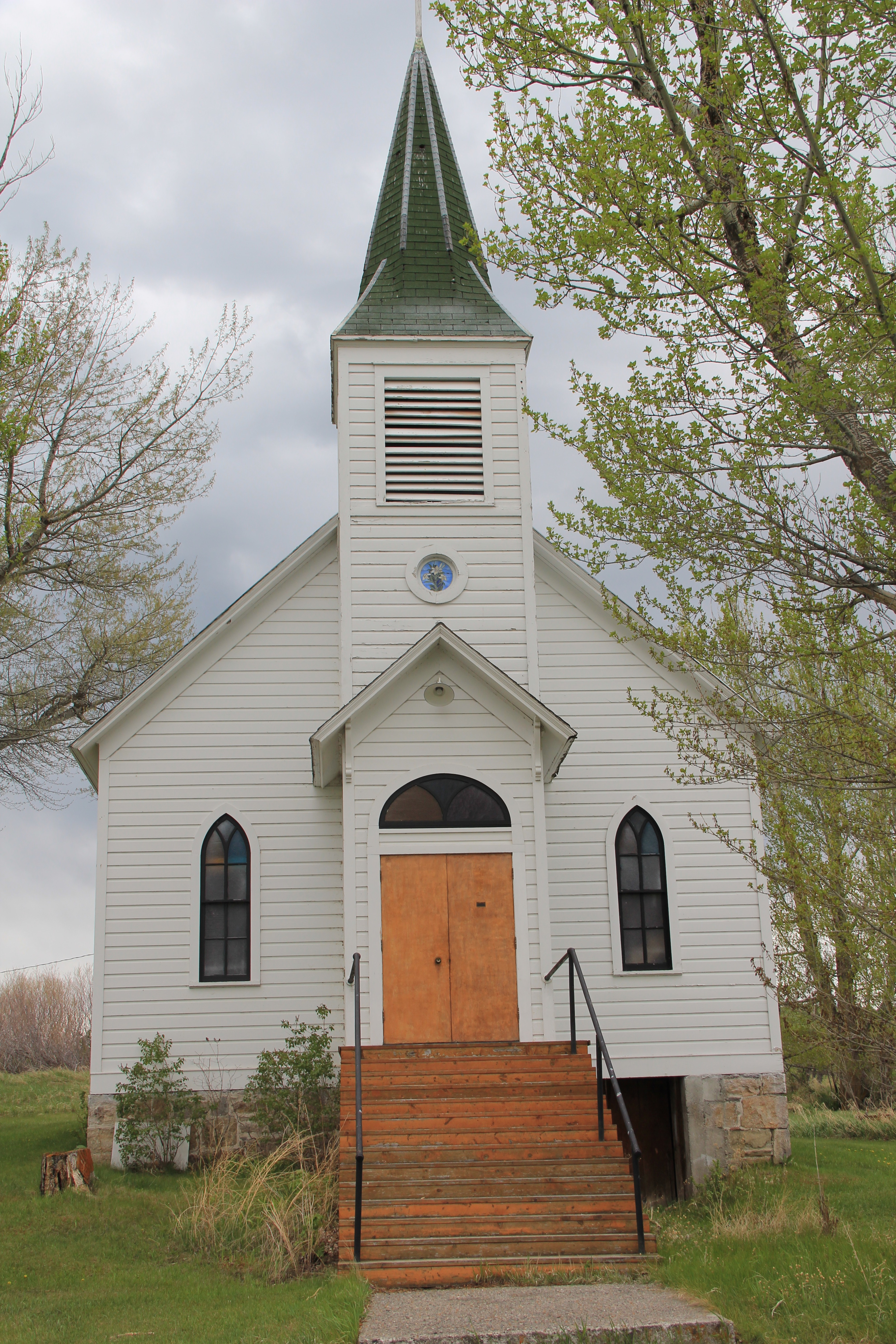 Catholic Church, Gold Creek, Powell Co 1