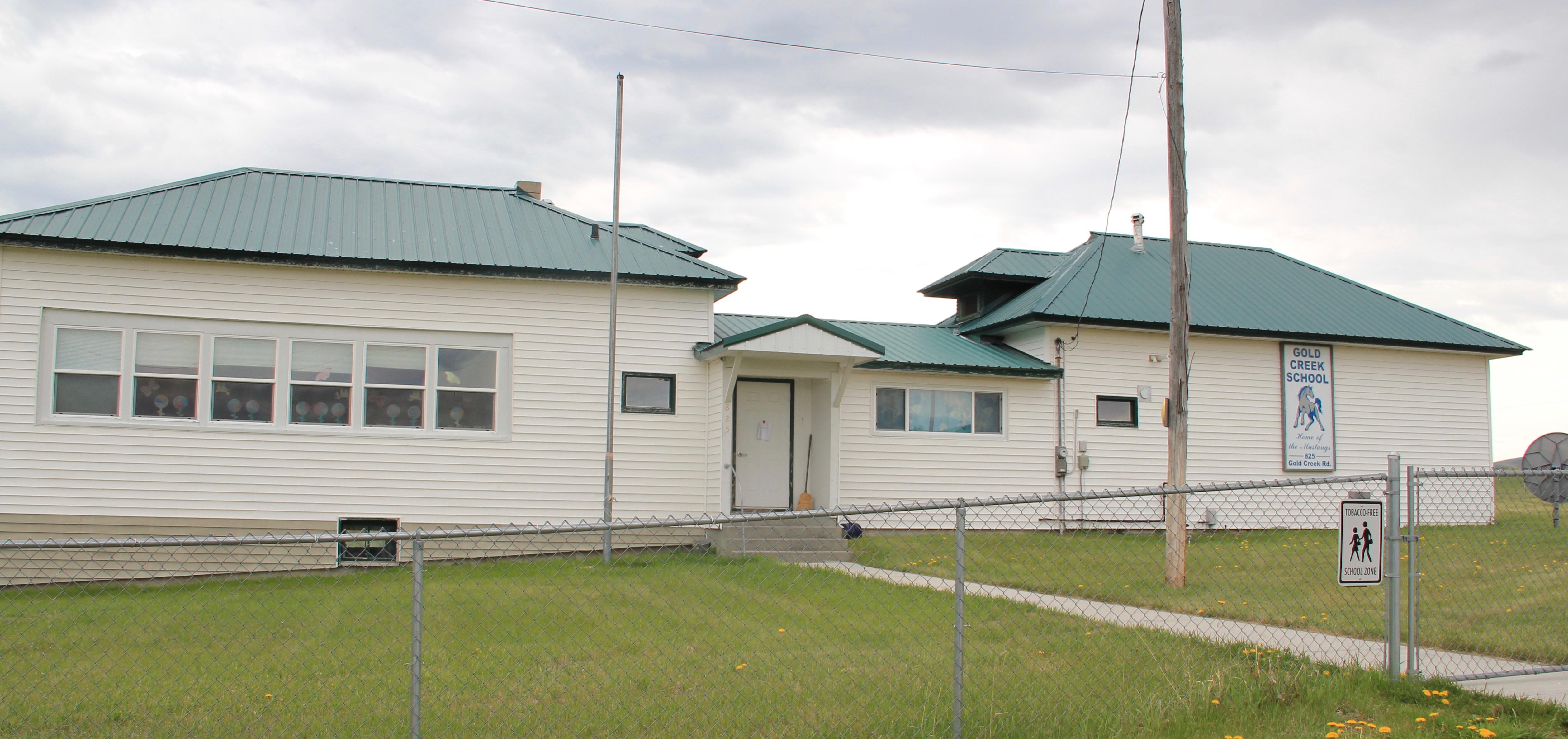 Gold Creek school, Powell Co