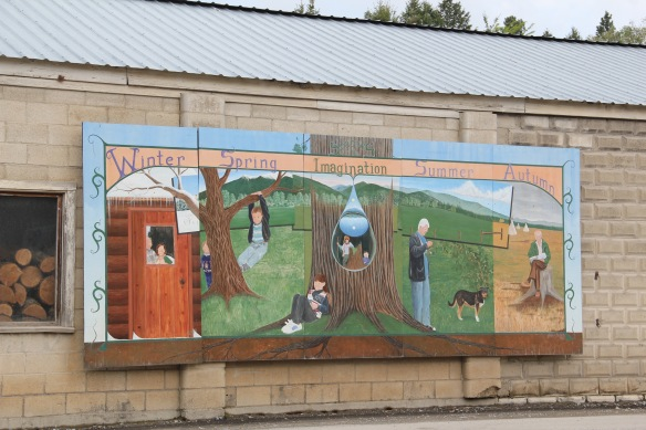 Flathead Co Eureka mural