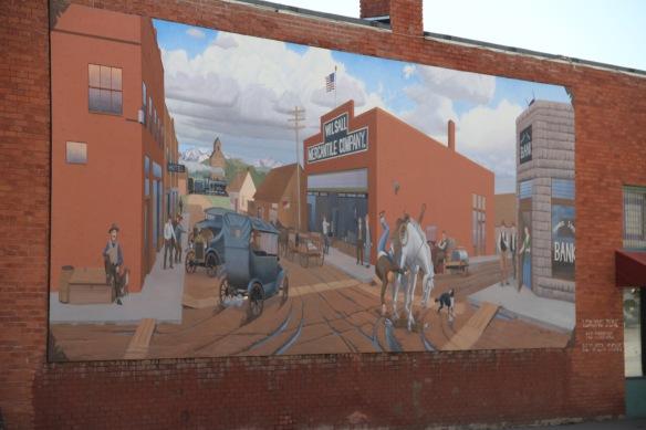 Park Co US 89 wilsall mural