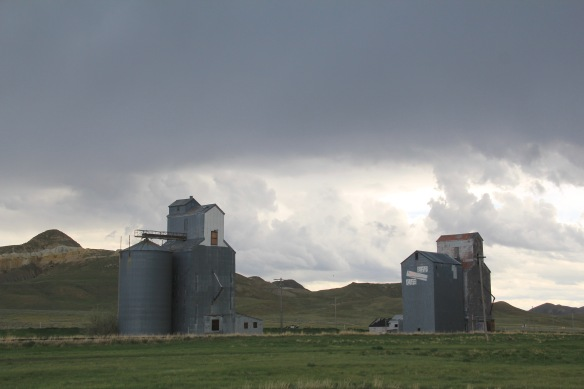 Chouteau Co MT 80 Square Butte elevator 1