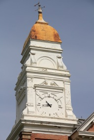 Chouteau Co Ft Benton courthouse clock tower