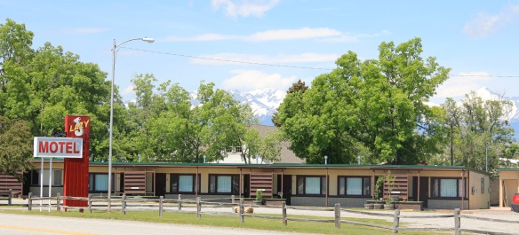 Big Timber roadside motel