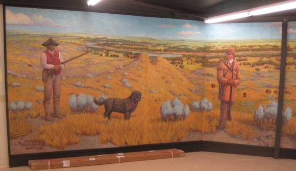 Valley Co Glasgow museum L&C mural
