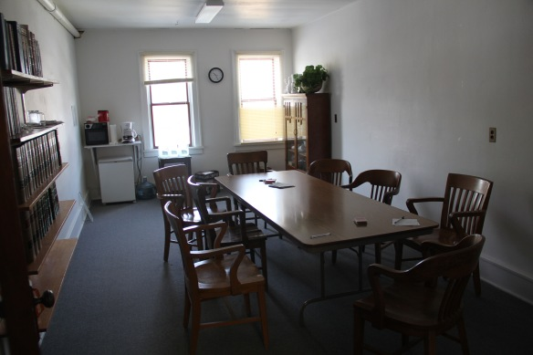 Daniels Co Scobey courthouse interior jury room