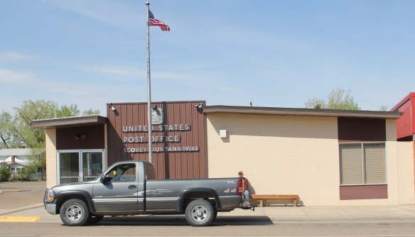 Daniels Co Scobey post office