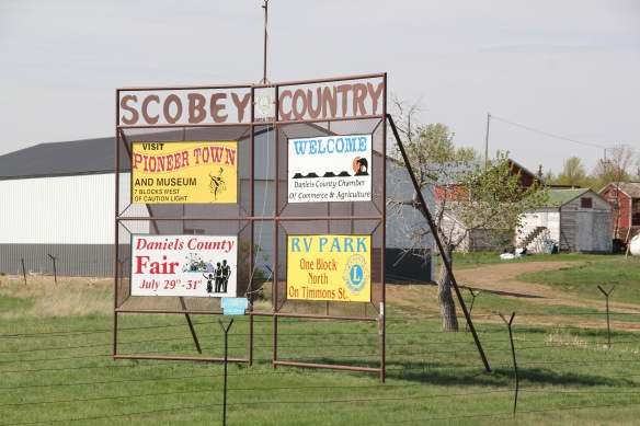 Daniels Co Scobey signs