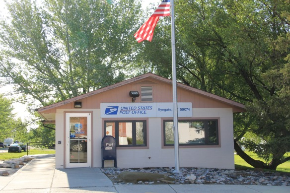 Golden Valley Co Ryegate post office