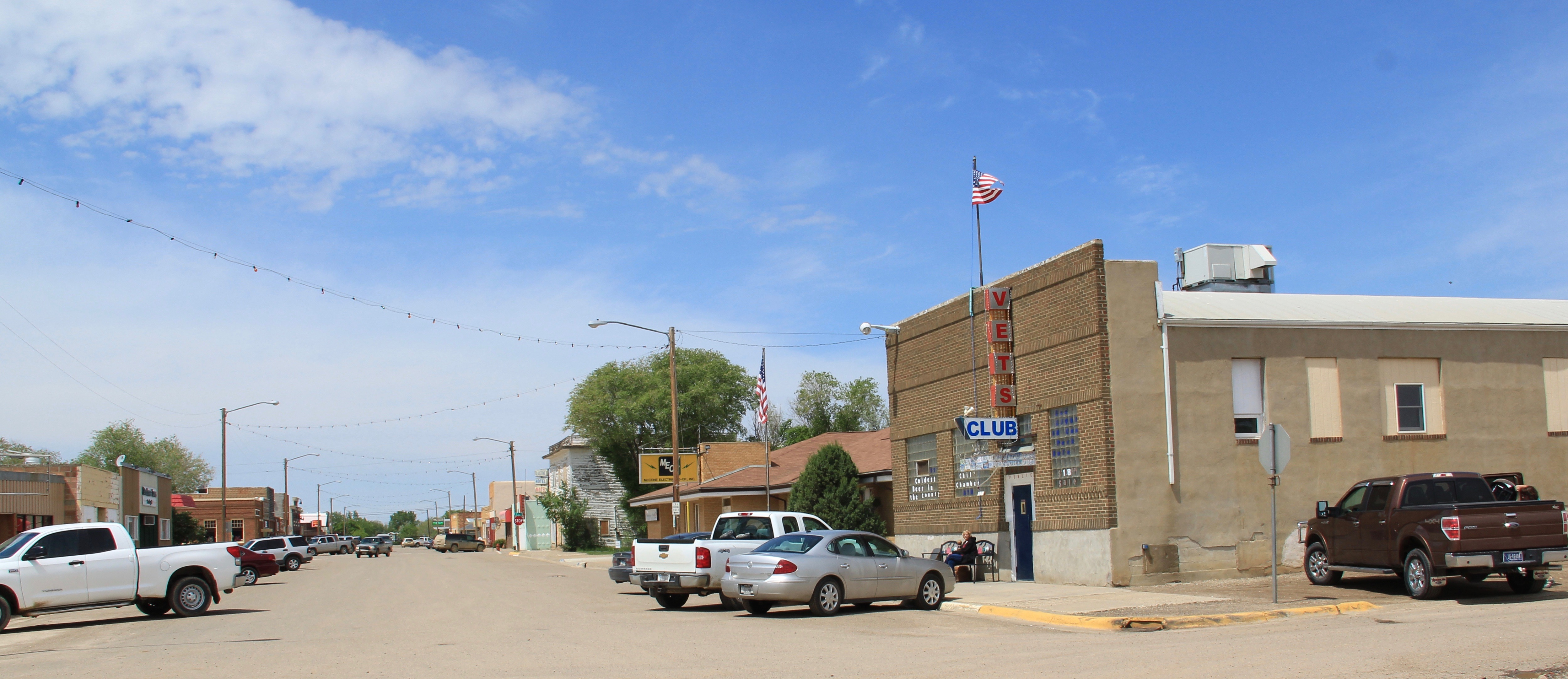 McCone Co Circle streetscape